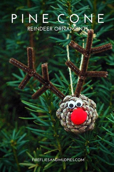 pine cone christmas ornaments crafts 40 creative pinecone crafts for your holiday decorations architecture design