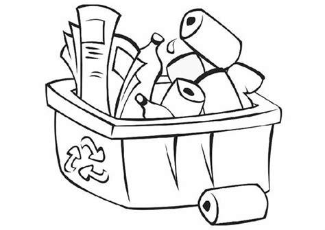 Recycle Coloring Pages - Democraciaejustica