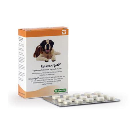 relaxan forte sanftes beruhigungsmittel fuer grosse hunde