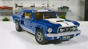 NEW 2019 LEGO Creator Expert Ford Mustang Gt (10265) Review Video by LEGO Designers - YouTube