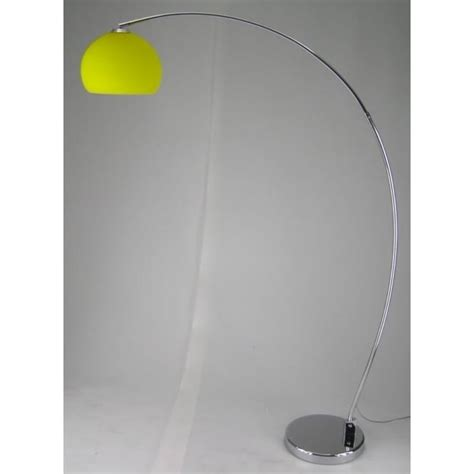 retro lighting retro lighting lrflooryellow 1 light modern floor l yellow and polished chrome