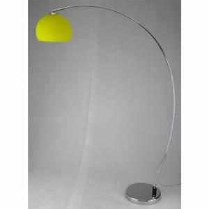 Retro lighting retro lighting lrflooryellow 1 light modern for Macey floor lamp yellow