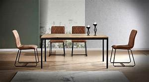Ensemble Table Et Chaise Cuisine : ensemble table et chaises une table 180 cm mozes 6 chaises lea co ~ Melissatoandfro.com Idées de Décoration