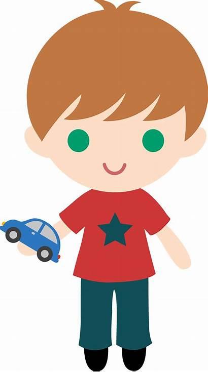 Boy Clip Clipart Transparent Toy Boys Cliparts