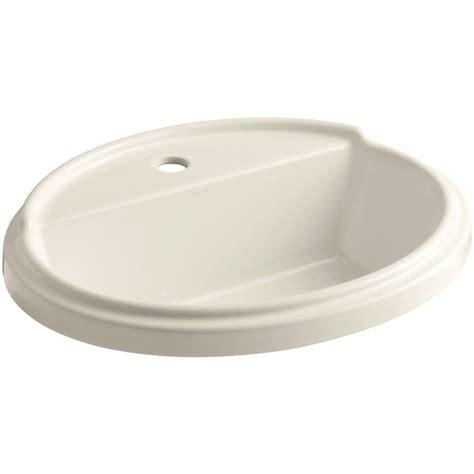 kohler tresham sink specs kohler tresham drop in vitreous china bathroom sink in