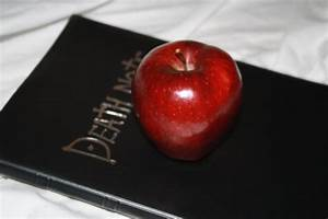 Death note and Apple by MajesticStock on DeviantArt