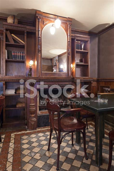 Rustic Cafe Interior Stock Photos Freeimagescom