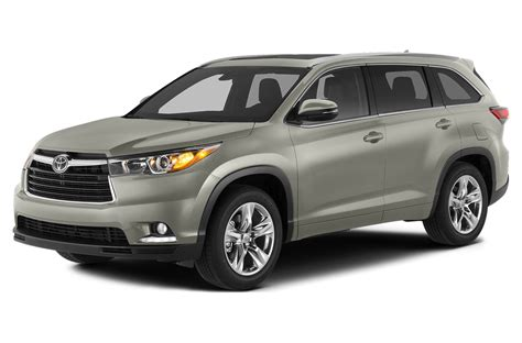 Price Of Toyota Highlander by 2014 Toyota Highlander Price Photos Reviews Features