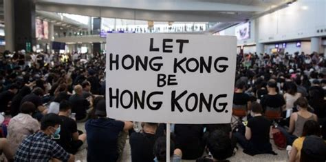 'Blossom everywhere': Chaos in Hong Kong as protesters ...
