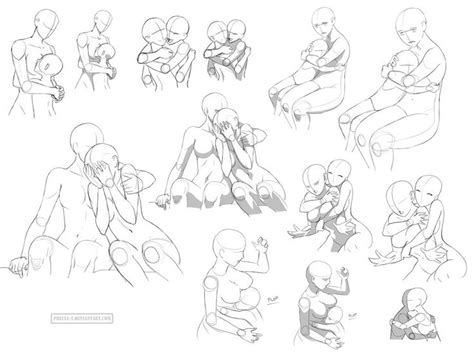 Hug References Ff By Precia T Comic Drawing Reference