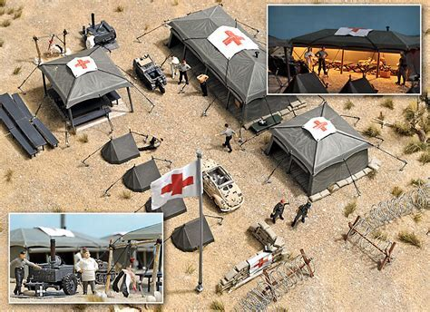 Busch 9605   Military Field Hospital