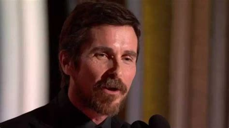 Christian Bale Wins Best Actor Golden Globe Comedy For