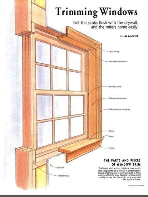 Window Stool Trim by Best 20 Window Casing Ideas On Molding Around