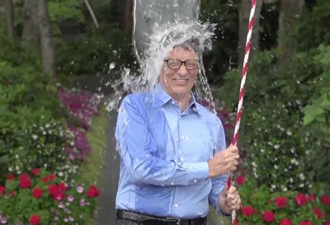 bill gates ice bucket challenge    product