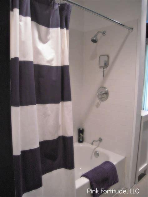 Boys In The Shower - boys bathroom reveal pink fortitude llc