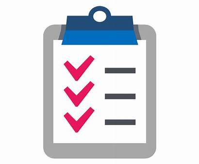 Checklist Clipart Check Clip Vector Clipboard Library