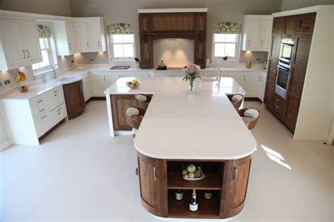 t shaped kitchen islands walnut open plan kitchen designs bespoke kitchens 5969