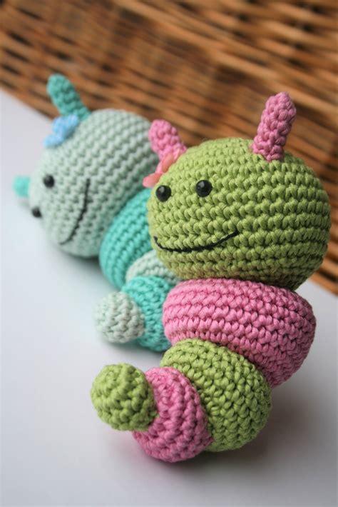 bug rattles  babies amigurumi crochet pattern lilleliis