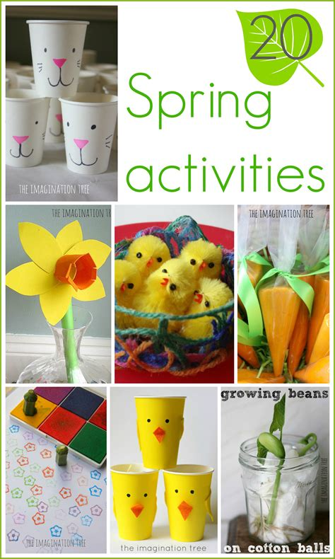 15 activities for the imagination tree 972 | 20 Spring activities and crafts for kids