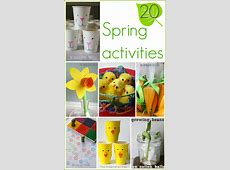 15+ Spring Activities for Kids! The Imagination Tree