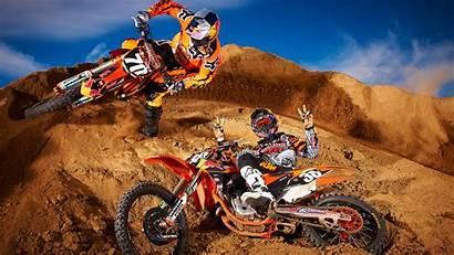 Dirt Bike Motocross Ktm Wallpapers Desktop Dirtbike