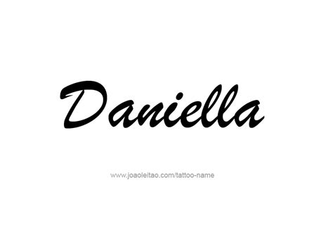 daniella  tattoo designs