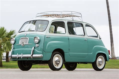 Fiat Multipla 600 by The Fiat 600 Multipla Was The True Definition Of A Minivan