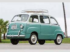 The Fiat 600 Multipla Was the True Definition of a Minivan