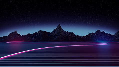 Background Neon Wallpaper 4k by Neon Highway 4k Hd Artist 4k Wallpapers Images