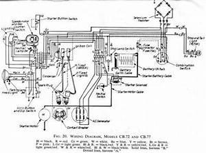 Honda Cb77 Wiring Schematic - Hires - 4-stroke Net