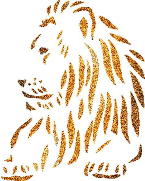 glitter lion glitter graphics myniceprofilecom