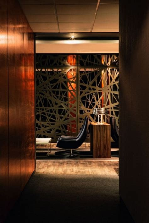 Modern And Luxurious Tebfin Office Interior Design By