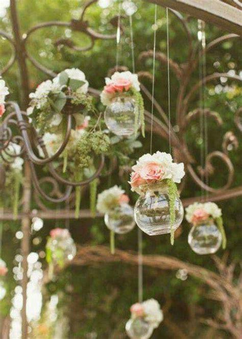 deco fleurie pour mariage simple  champetre garden