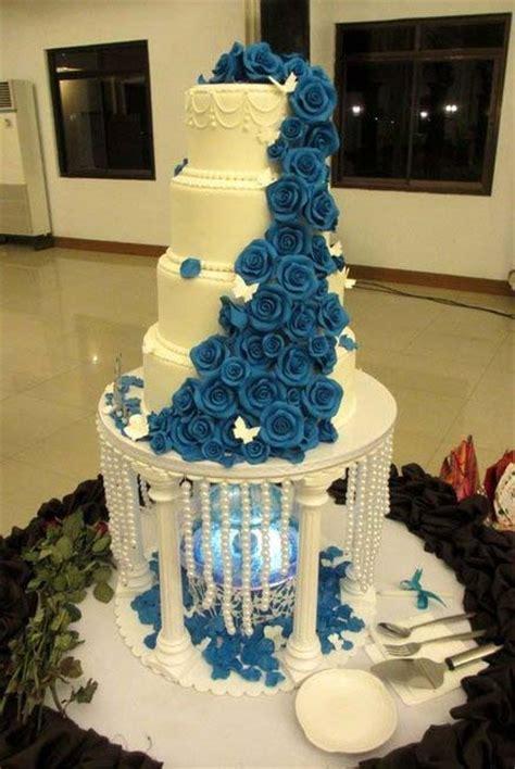 gateau de mariage spectaculaire