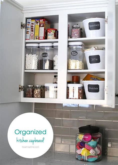 Organised Cupboards by 27 Organizing Hacks I Nap Time