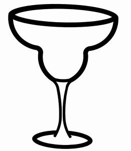 Champagne Glass Outline - ClipArt Best