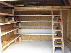 How To Build Wood Storage Shelves Garage