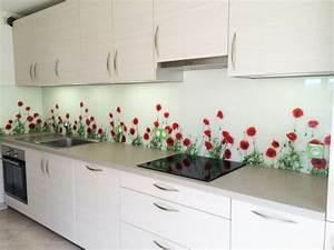 Crédence Cuisine Verre : cr dence cuisine beaucoup d 39 id es cr atives pour votre ~ Premium-room.com Idées de Décoration