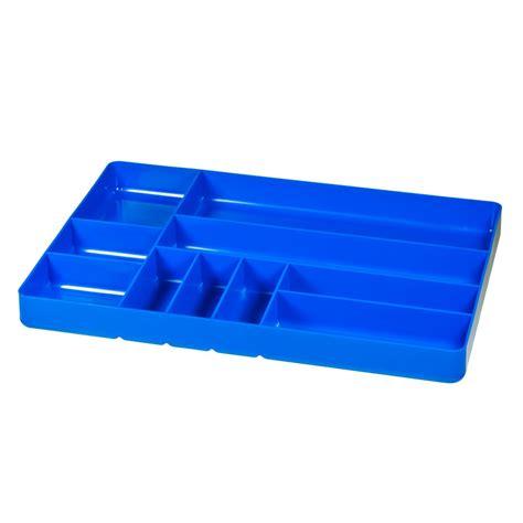 5012 Ten Compartment Organizer Trayblue #5012