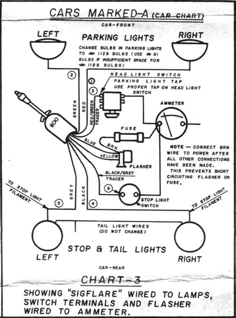 Wiring Diagram For Old Chrome Clamp Turn Signal Page
