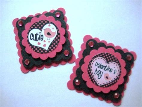 handmade valentines embellishments  lovestampu