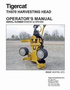 Download Tigercat Harvesting Head Th570 Operator U2019s Pdf