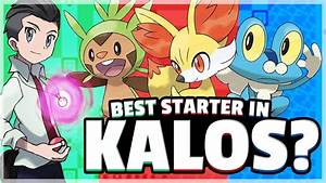 April Fools  What Is The Best Starter Pokemon   Kalos
