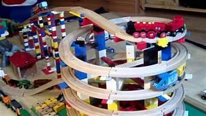 Brio Eisenbahn Schienen : brio eisenbahn und lego toy train wooden railway system and lego hd kinderkanal youtube ~ Orissabook.com Haus und Dekorationen