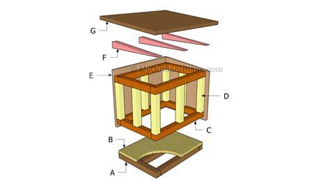 cat house plans myoutdoorplans  woodworking plans
