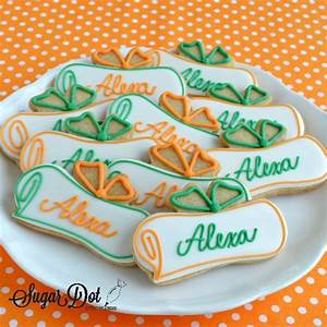 Diplomas with the graduate's name Perfect cookie design