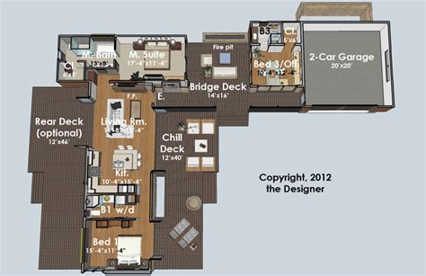 kitchen family room floor plans hummingbird h3 4382 3 bedrooms and 3 5 baths the house