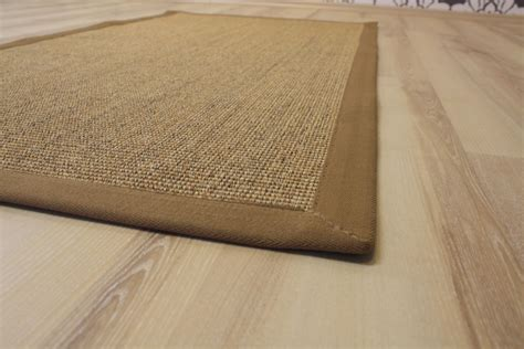 joop teppiche sisal carpet manaus with border jaspe 200 x 200 cm 100