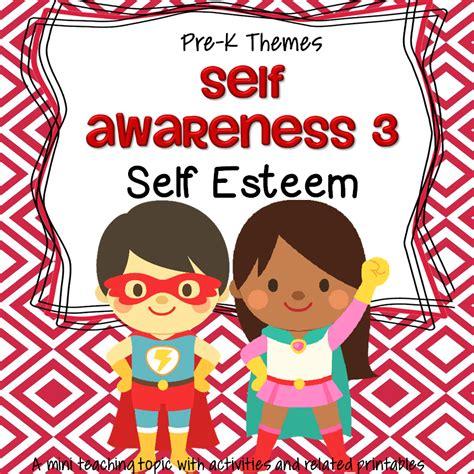 theme activities and printables for preschool pre k and 270   pre k theme for a day self awareness self esteem orig