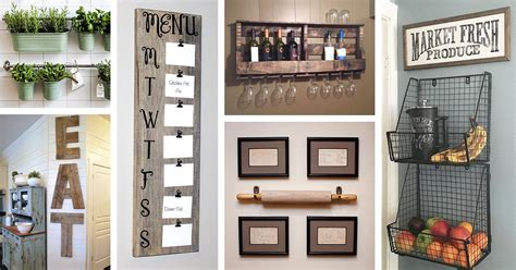 Here are 26 ideas to choose from. 36 Best Kitchen Wall Decor Ideas and Designs for 2020